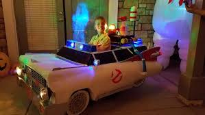 Kids Ghostbusters Halloween Costume Check Kid U0027s Awesome Ghostbusters Ecto 1 Halloween Costume
