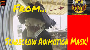 animotion scarecrow mask product video youtube
