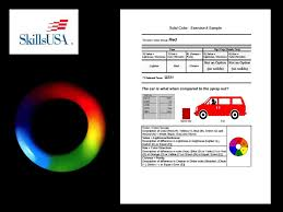 automotive refinish technology color tinting study guide ppt