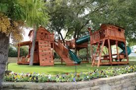 Backyard Swing Sets For Kids by Home Backyard Fun Factory