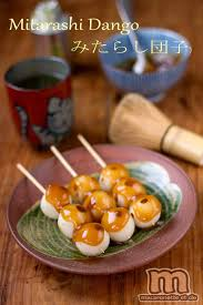 cuisine et compagnie mitarashi dango みたらし団子 macaronette et cie beautiful food