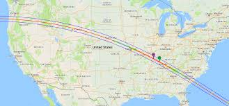 Colorado On The Map by Map Shows How Much Of The Great American Eclipse You Will Be Able