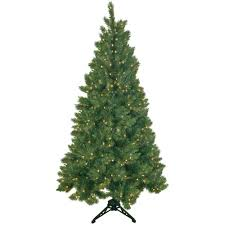 general foam 6 5 ft pre lit half artificial tree with