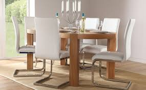 Awesome Modern White Dining Room Table Photos Room Design Ideas - Modern contemporary dining room sets