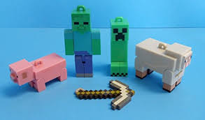 minecraft ornaments featuring 5 minecraft ornaments with