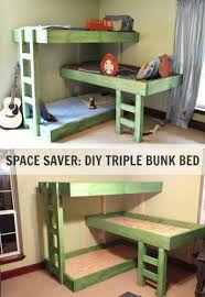 Small Bedroom Three Beds Amazing Triple Stacked Bunk Beds Pictures Ideas Tikspor