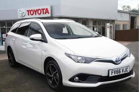 used toyota auris for sale listers