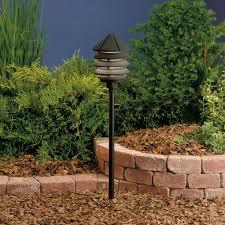 kichler outdoor lighting fixtures 3 tier black 12v path u0026 spread light