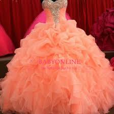 quinceanera dresses coral 201 coral quinceanera dresses floral beaded sweetheart princess