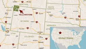 Map Of The United States With Compass by Where Is Yellowstone National Park My Yellowstone Park