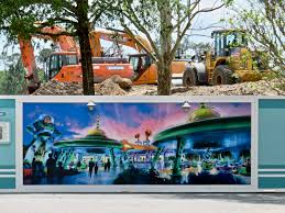 mouseplanet walt disney world resort update for march 28 april up close to the construction wall beyond toy story