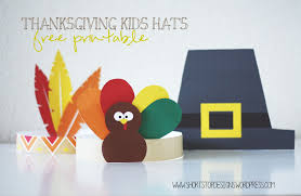 thanksgiving hats free printables stop designs