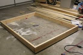 Making A Wood Platform Bed by Pb Teen Inspired Platform Bed Shanty 2 Chic