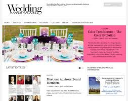 Wedding Planner Websites In Living Color Published In Wedding Planner Magazine