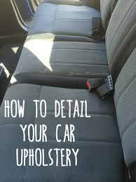 Interior Steam Clean Car 30 Creative Uses For Your Steam Cleaner One Good Thing By Jillee