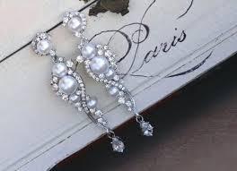 Chandelier Pearl Earrings For Wedding Chandelier Pearl Earrings For Wedding Eimat Co Awesome