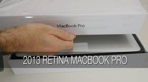 apple 2013 retina macbook pro unboxing first look setup