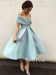 graduation dresses shoulder blue prom dresses shoulder homecoming
