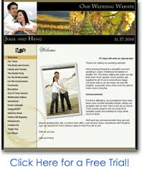 free personal wedding websites wedding website