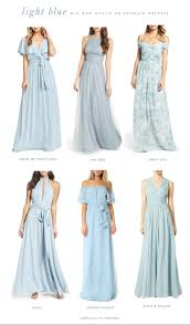 light blue mix and match bridesmaid dresses dress for the wedding