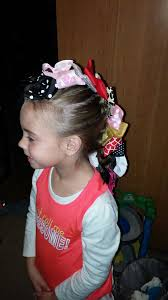 bow hawk wacky tacky day hair pinterest