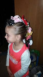 bow hawk wacky tacky day hair pinterest