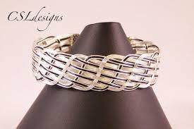 weave wire bracelet images Close wire woven bracelet jpg