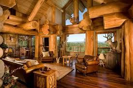 log home interior design ideas log cabin interiors beautiful rustic design and decoration ideas