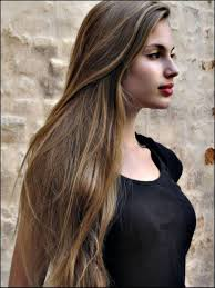 brown hair color for long hair