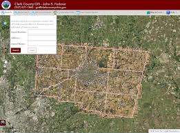 clark county gis maps portfolio of ken doman web application developer