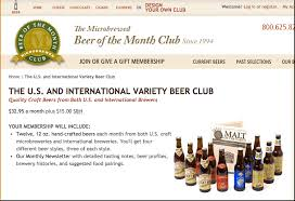 monthly food clubs us international microbrewed of the month club review
