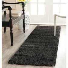 Ebay Area Rugs Safavieh Power Loomed Dark Grey Plush Shag Area Rugs Sg180 8484