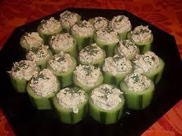 canap recette facile recette de canapé de concombre au thon la recette facile