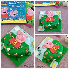 peppa pig birthday pig cake