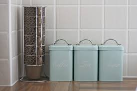 green kitchen canister set 100 blue kitchen canister set honey can do 3 piece nested