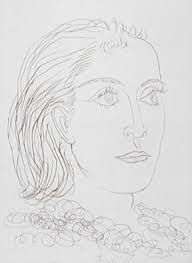 portrait of dora marr state iii etching by picasso