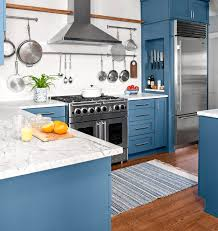 what color appliances with blue cabinets timeless kitchen trends that are here to stay better homes