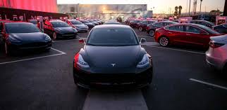tesla delivers record 26 150 vehicles only 220 model 3 sedans