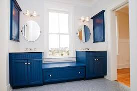 Blue And White Decorating Decorating Bathroom With Blue And White