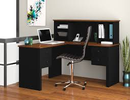 Small Desk With Bookcase Workspace Mainstay Computer Desk To Maximize Home Office