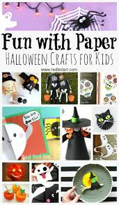 paper halloween crafts paper halloween bookmarks and craft
