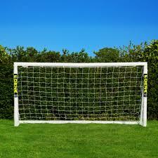 8 x 4 forza soccer goal post net world sports