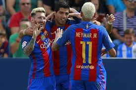 Lionel Messi Halloween Costume Leganes 1 5 Barcelona Lionel Messi Neymar Luis Suarez Put