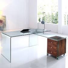 Clear Acrylic Desk Table Stylish Lucite Desk For Clear Beauty U2013 Bitadvice