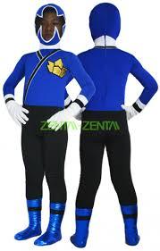 Power Ranger Halloween Costumes Power Ranger Kids Costume Samurai Megazord Blue Black Spandex