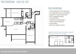 Typical Hotel Room Floor Plan Kaanapali Alii Floor Plans
