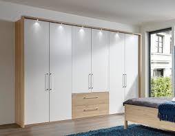 Schlafzimmerschrank Buche Nachbildung Kleiderschrank Buche Weiß Jamgo Co