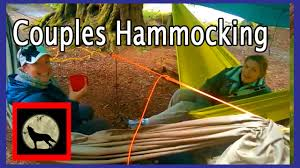 diy hammock couples or his and hers hammocking together hilleberg