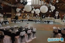 decoration mariage noir et blanc bullesdr décoration de mariage en ballons à brumath 67170 alsace