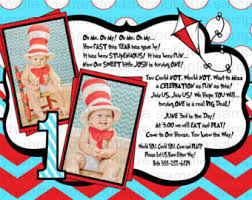 dr seuss birthday invitations dr seuss invitations for 1st birthday eysachsephoto